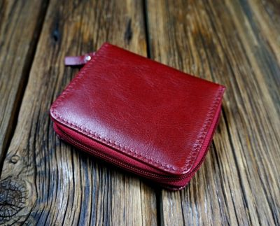 Women's natural leather wallet W302DR